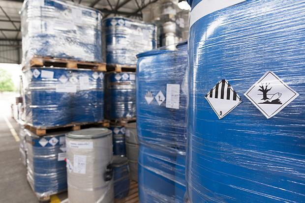 Environmental hazard barrels